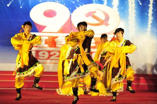 甘肃省卫生学校校园艺术节